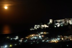 Rhodes, Lindos at full moon