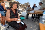 Greece, Peloponese, prefecture of Ileia, Artemida, the village with 26 dead people: 82-year old Anastasia Iliopoulou saved her home and then the neighbourhood. Villagers call her heroid.  © Maro Kouri
