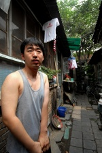 China, The many faces of Beijing. At Yong Sheng Xiang street is another slum  © Maro Kouri