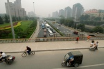 China, ''The many faces of Beijing'': Bicycle is the trademark of chinese daily life, that services the 70% of the transportation. But soon it will dissapear from the center, oppenning the way to the cars of the new arising class  © Maro Kouri